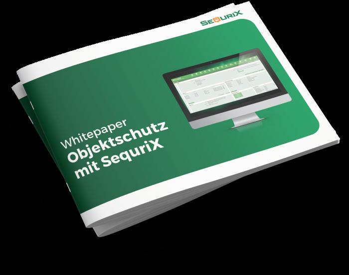 Whitepaper mockup objektschutz